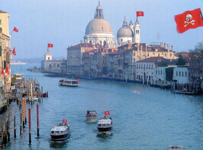 Venezia - l'Isola dei Pirati