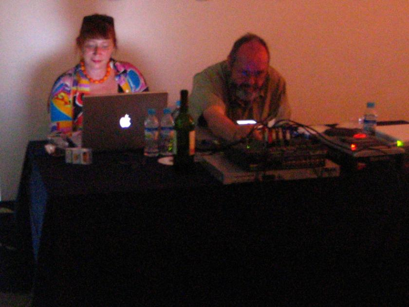 Live video Katherine Liberovskaya & Live mixing of audio pieces Phill Niblock